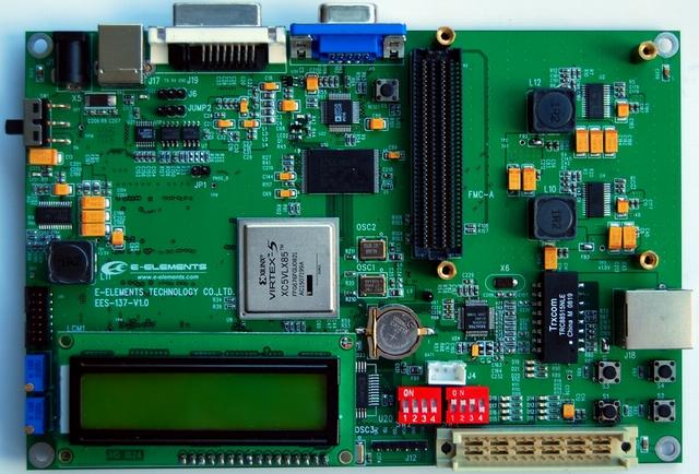e元素鼠标线接电路板图